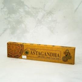 Vonná sviečka Astagandha Organic series