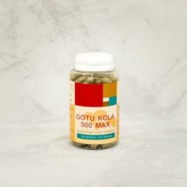 Gotu kola 500 max - 100 kapsúl - Centella asiatica