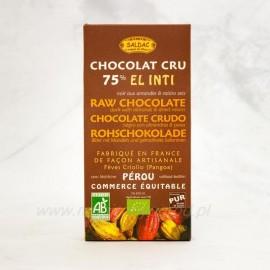 Horká čokoláda 75% Criollo kakao mandle a hrozienka 100 g