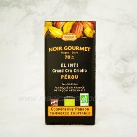 Horká čokoláda EL INTI 70% kakaa 100g Bio