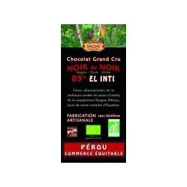 Horká čokoláda EL INTI 85% Bio 100g