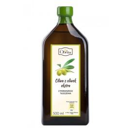 Olivový olej lisovaný zastudena Olvita 500 ml