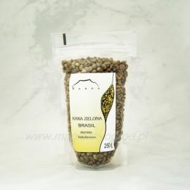 Zelená káva BRASIL bezkofeinová zrno - 250g