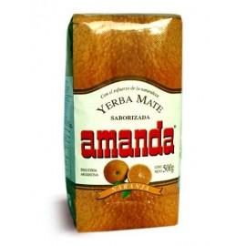 Yerba Mate Amanda Naranja 500g