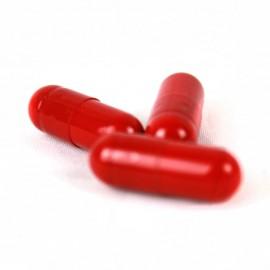 Červené želatínové kapsule - 0