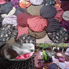 Vankúš na meditácie - Maroko štvorcový malý