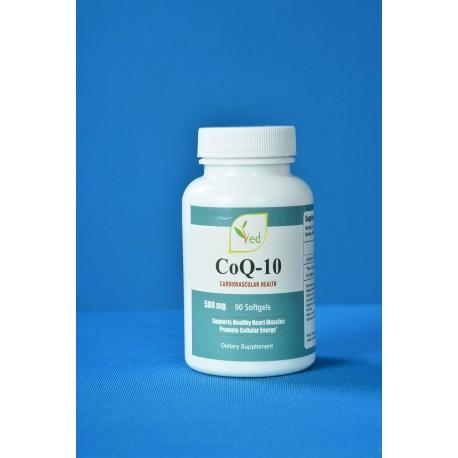 Koenzým Q10 - 500mg - 90 kapsúľ - Co Enzyme Q10 CoQ10