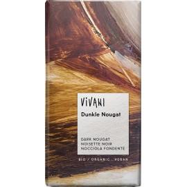Horká čokoláda nugátová VIVANI 100g