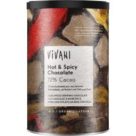 Horká čokoláda s chilli a škoricou VIVANI 280 g