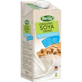 Bio sójový nápoj nesladený BERIEF 1 l