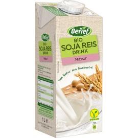 Bio sójovo-ryžový nápoj Natur BERIEF 1 l