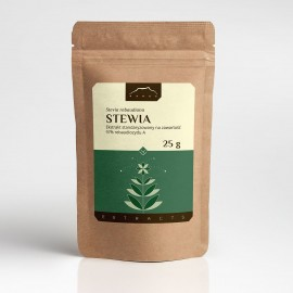 Stevia ekstrakt 97% - Stevia rebaudiana Bertoni - 25g