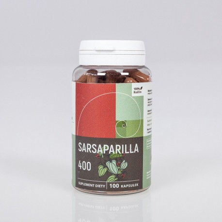 Smilax lekársky - Sarsaparilla kapsule 400 mg x 100 - Smilax officinalis