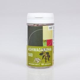 Ašvaganda - Ashwagandha 500 mg x 60 kapsúl - Withania somnifera