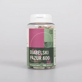 Diablov pazúr - 100 kapsúl x 600 mg - Harpagophytum procumbens
