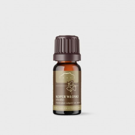 Olej Fenikel obyčajný - 100% esenciálny olej - 10ml - Foeniculum vulgare