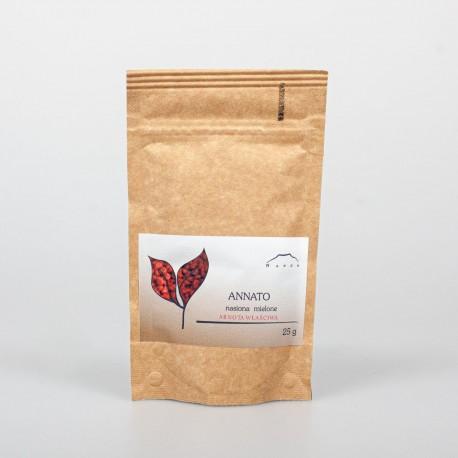 Annatto semená - Arnotta, achiote - 25g vcelku
