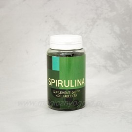 Spirulina tablety 500 mg - Arthrospira platensis - 100g (200 tabletek)