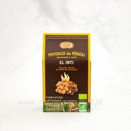 Machovka Peruánska v horkej čokoláde 63% Bio